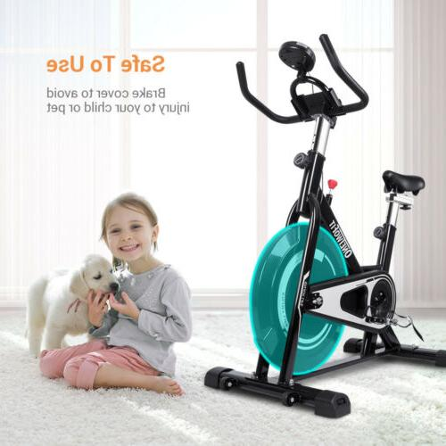 Stationary Indoor Cycling Fitness Workout