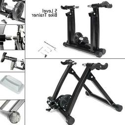 Magnetic Indoor Bicycle Bike Trainer Exercise Stand 5 levels