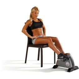 Mini Cycle Exercise Bike Indoor Under Desk Pedal Compact Por