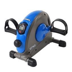Stamina Mini Exercise Bike with Smooth Pedal System, Blue -