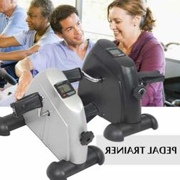 Mini Pedal Exercise Machine Cycle Fitness Digital Exerciser