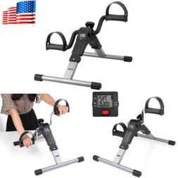Mini Pedal Exerciser Bike Cycling Fitness Trainer Leg and Ar