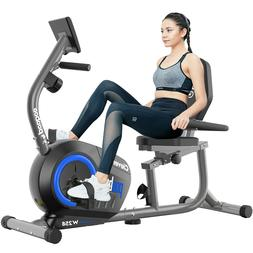 Recumbent Magnetic Exercise Bike-Seated Support  Elliptical