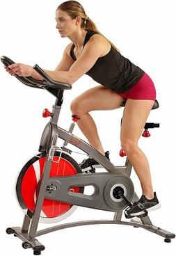 Sunny Health & Fitness Indoor Exercise Bike with Digital Dis