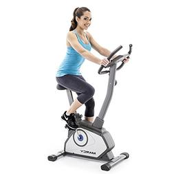 Marcy Magnetic Upright Bike With 8 Levels of Resistance NS-4