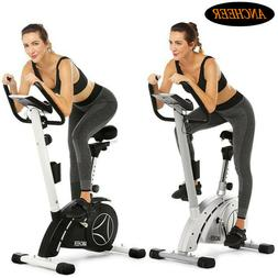 ANCHEER Upright Exercise Bike Home Cycling Magnetic Trainer