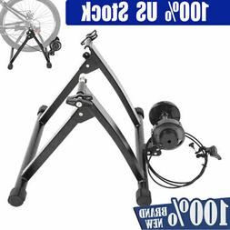 US Bicycle Trainer Stationary Magnetic Bike Cycle Stand Indo